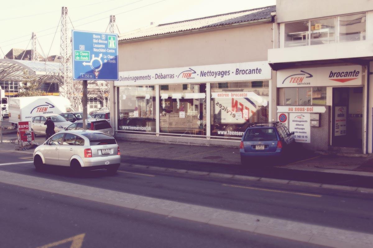 Brocante TEEN Services Draizes Neuchâtel